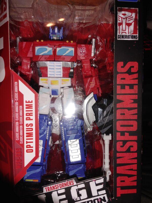 Optimus Prime Toy 35th Anniversary