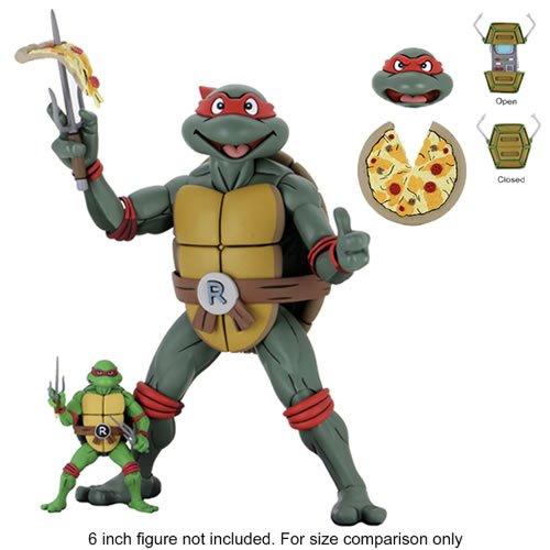 Teenage Mutant Ninja Turtles Raphael Cartoon Action Figures 1/4th Scale Figures - Raphael Cartoon Version